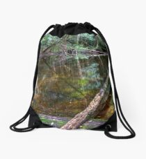 Downstream - Rainforest - NSW - Australia Drawstring Bag