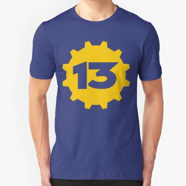 Vault 13 - Style 3 Slim Fit T-Shirt