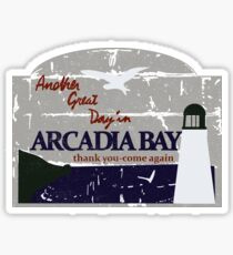 Arcadia Bay Sticker