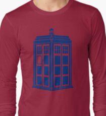 Colour Me Tardis Long Sleeve T-Shirt