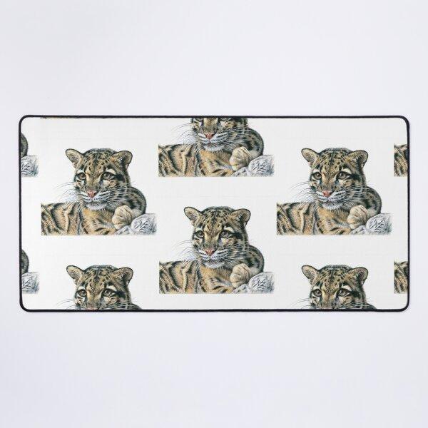 Clouded Leopard - Nebelparder Mauspad XXL