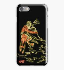 Cowboy Smoker (Light) iPhone Case/Skin