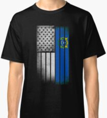 USA Vintage Nevada State Flag Classic T-Shirt