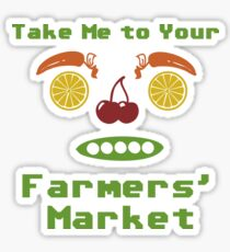 Farmers' Market Sticker