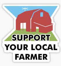 Support Your Local Farmer Sticker