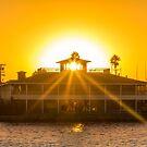 Long Beach Sunset by Zort70