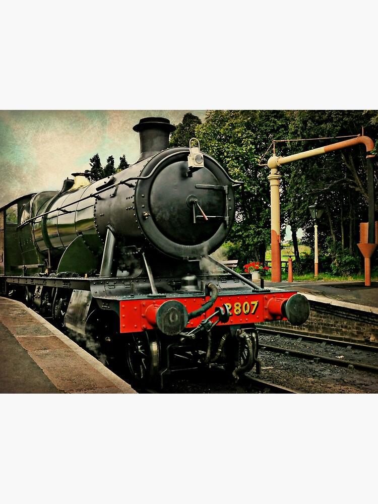 Heavy Goods Steam Train by ScenicViewPics