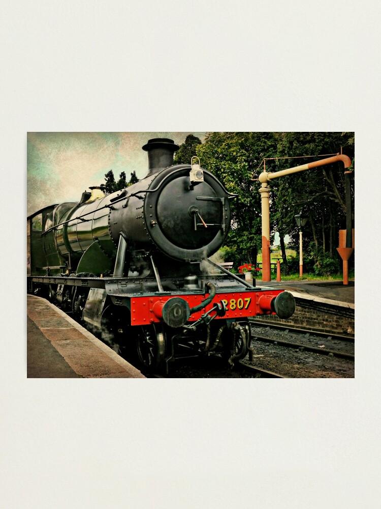 Alternate view of Heavy Goods Steam Train Photographic Print
