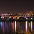 Long Beach At Night by Zort70