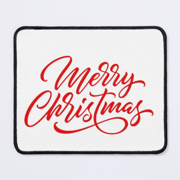 Happy Merry Christmas 2022 Mouse Pad