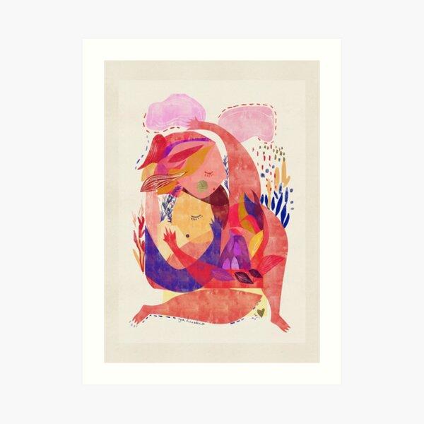 Hug Me 3 Art Print