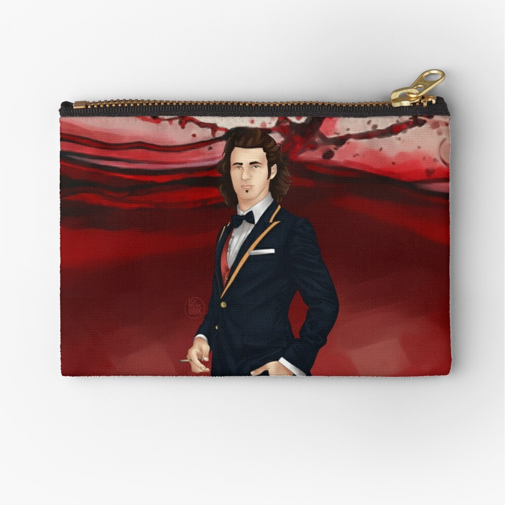 Fausto - Voyager Sorcerer of Alternatives Zipper Pouch