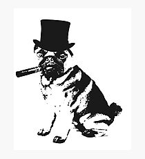 Dont Do Pugs Kids Photographic Print
