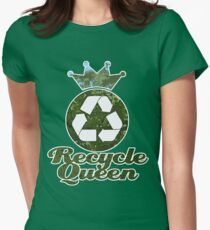 Recycle Queen Women's Fitted T-Shirt