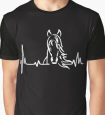 Horse Heartbeat  Graphic T-Shirt