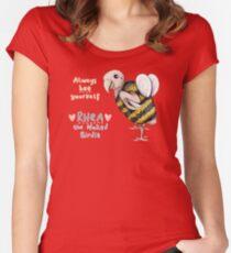 Rhea - Always Bee Yourself Women's Fitted Scoop T-Shirt
