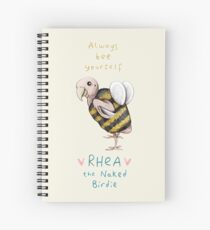 Rhea - Always Bee Yourself Spiral Notebook