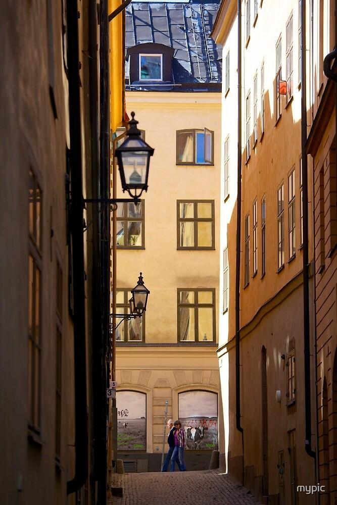 Backstreets Gamlastan, Stockholm by mypic