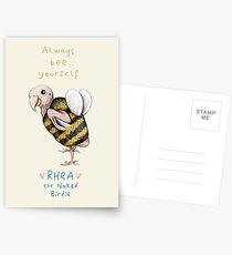 Rhea - immer Biene selbst Postkarten