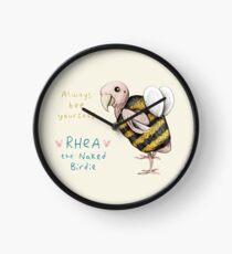 Rhea - Always Bee Yourself Clock