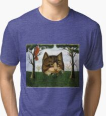 A Cat's Head Tri-blend T-Shirt