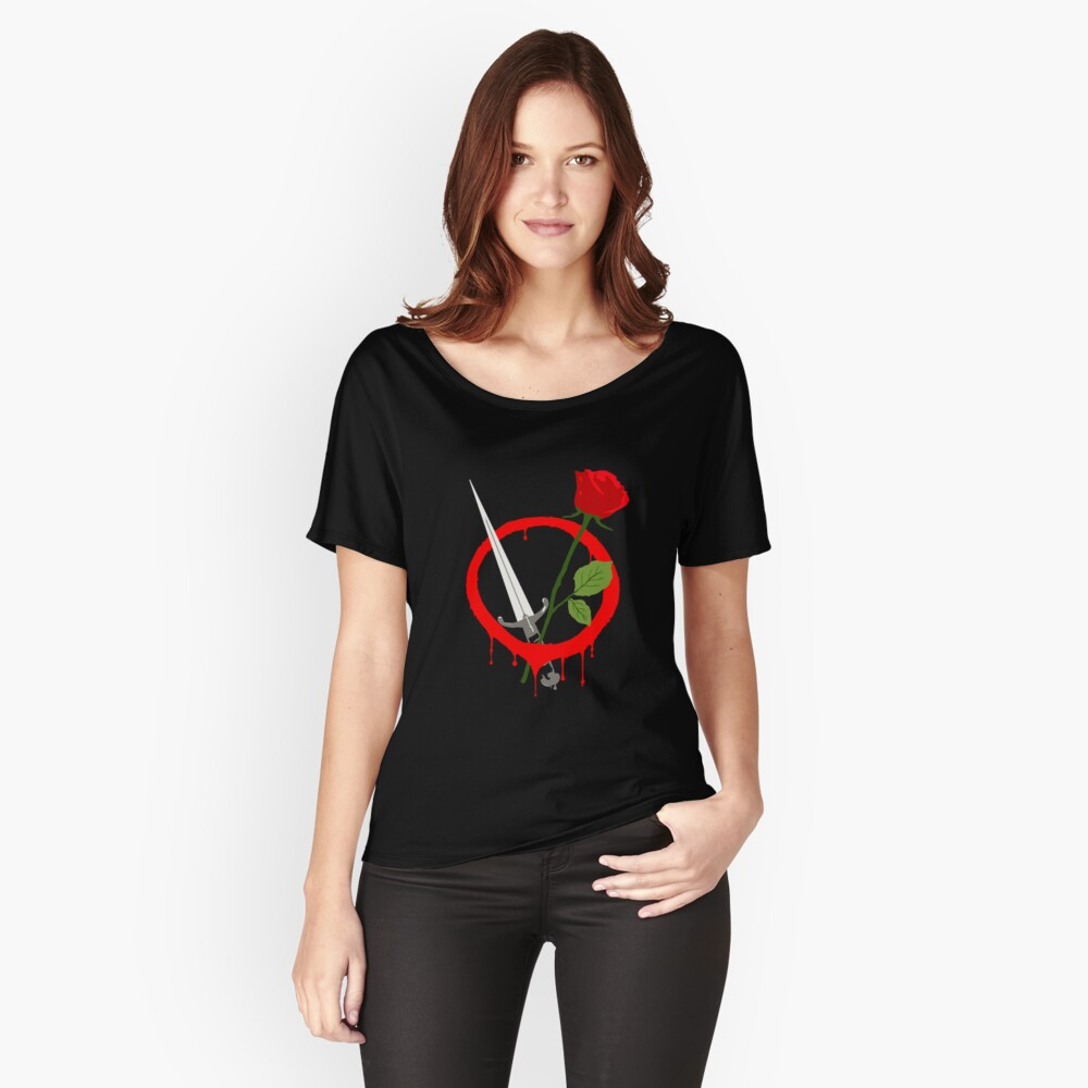 V for Vendetta Women's Relaxed Fit T-Shirt Front