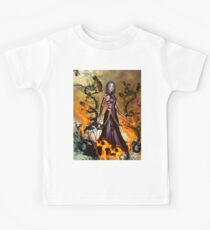 Awesome dark fairy Kids Tee