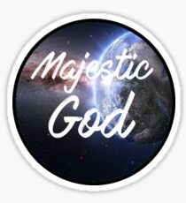 Magestic God Sticker