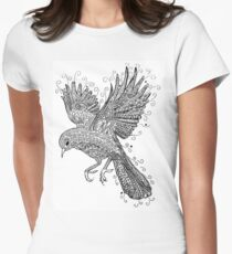 Birds - Black and White Tattoo T-Shirt