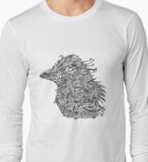 Birds - Tattoo Black and White T-Shirt