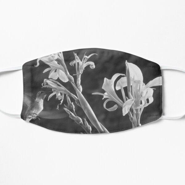 Hummingbird and Canna Lily Flat Mask