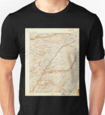 USGS TOPO Map California CA Big Trees 299216 1897 125000 geo T-Shirt