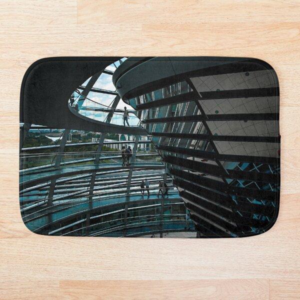 Reichstag Dome, Berlin - Photographic Print Bath Mat