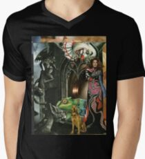 SPOOKY Men's V-Neck T-Shirt