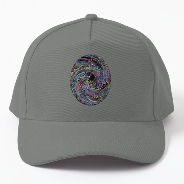 Psychedelic Thumbprint  Baseball Cap