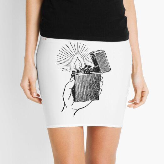 Light in the dark Mini Skirt