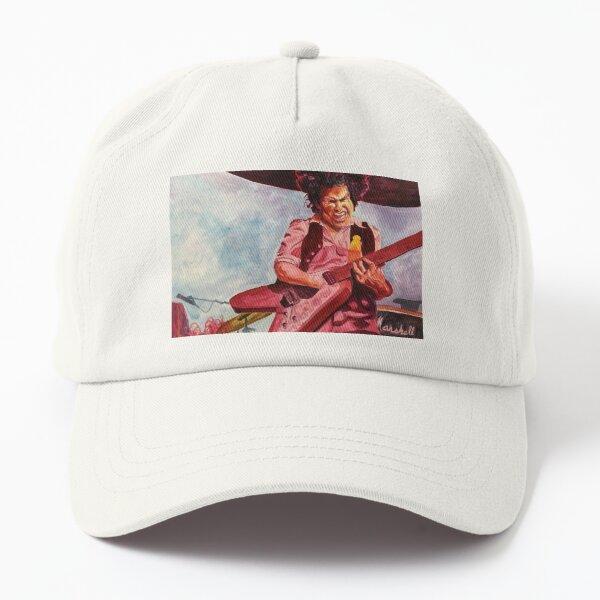 Jesse Lee and his Flying V Dad Hat