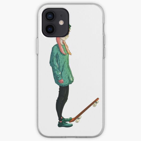 Bunny Girl with a skateboard iPhone Soft Case