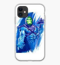 He Man Skeletor Drawing iPhone Case