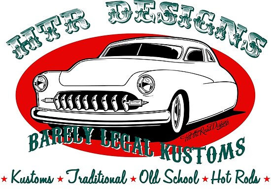 HTR Designs Barely Legal Kustoms garage by htrdesigns