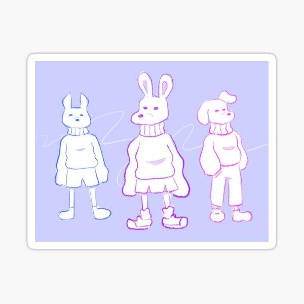 Turtleneck Crew Sticker