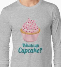 Whats up Cupcake? Pyjama T-Shirt Long Sleeve T-Shirt