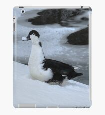Snow On My Bill iPad Case/Skin