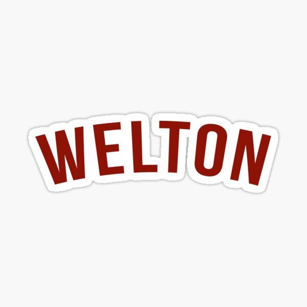 Dead Poets Society- Logo Welton Sticker