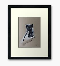 The safest place to be Framed Print