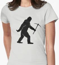 Bigfoot Rockhound Womens Fitted T-Shirt