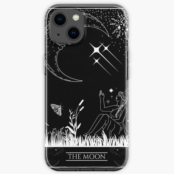 The Moon Tarot Card iPhone Soft Case
