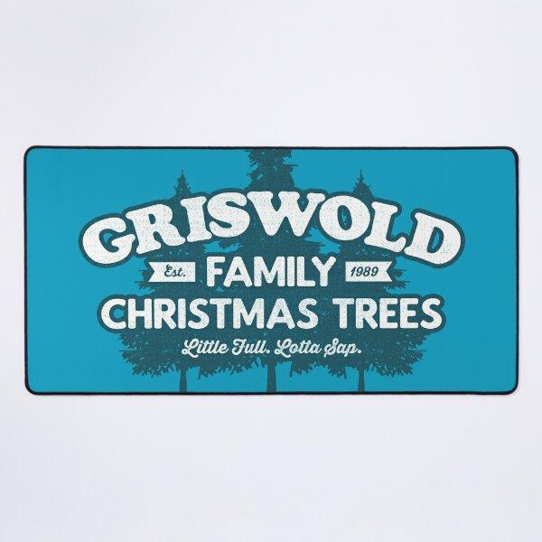 (Blau) Griswold-Stammbäume Mauspad XXL