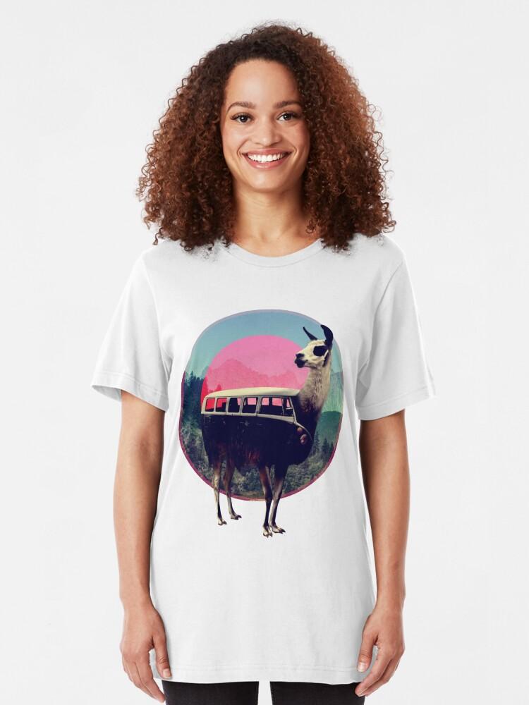 Alternate view of Llama Slim Fit T-Shirt