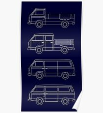 VW T3 Poster